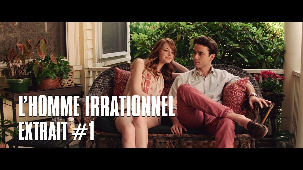 L'homme irrationnel de Woody Allen - Extrait #1 Emma Stone & Jamie Blackley