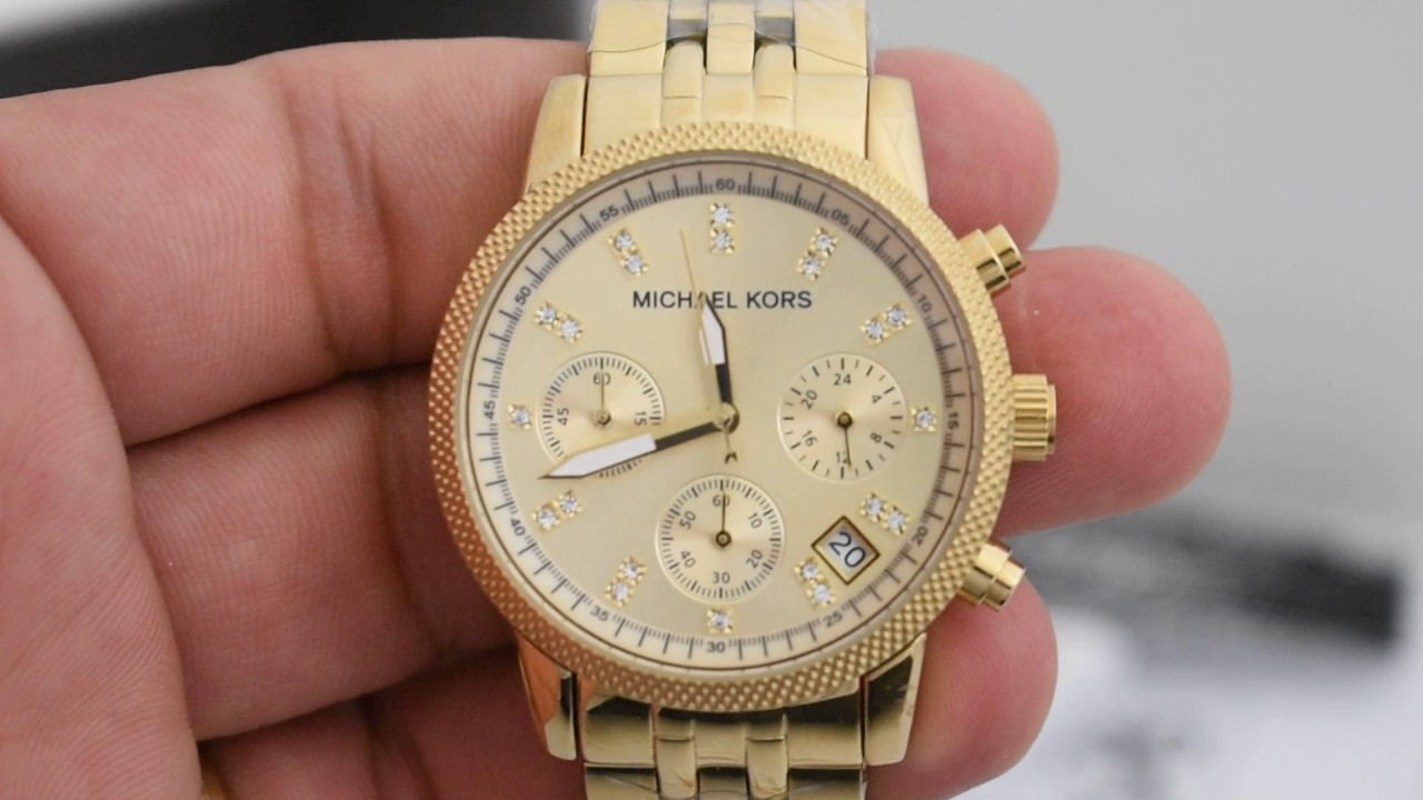 c16f1c2a2cf38 Relógio Michael Kors MK5676 Original - YouTube