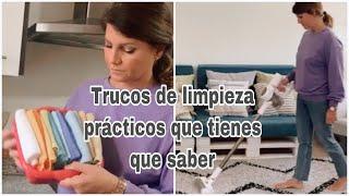 Trucos de limpieza imprescindibles que tienes que conocer  / Cómo limpiar las alfombras en casa # Ad