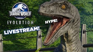 WDC Charity Livestream: Jurassic World Evolution thumbnail