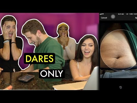 DARES ONLY... FT. REACT CAST SOCIAL MEDIA EDITION