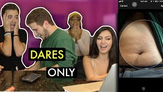 DARES ONLY... FT. REACT CAST (SOCIAL MEDIA EDITION)