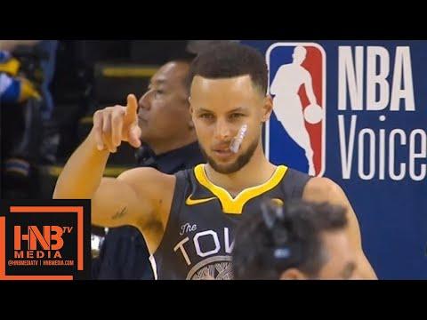 Golden State Warriors vs LA Clippers 1st Half Highlights / Feb 22 / 2017-18 NBA Season