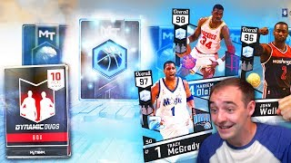 NBA 2K17 My Team FIRE PULL! THESE PACKS ARE NICE! DRAFT DAY MADNESS!