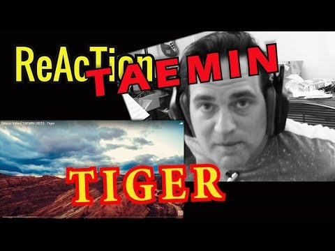 Reaction To TAEMIN - TIGER // MV // Classical Guitarist Reacts
