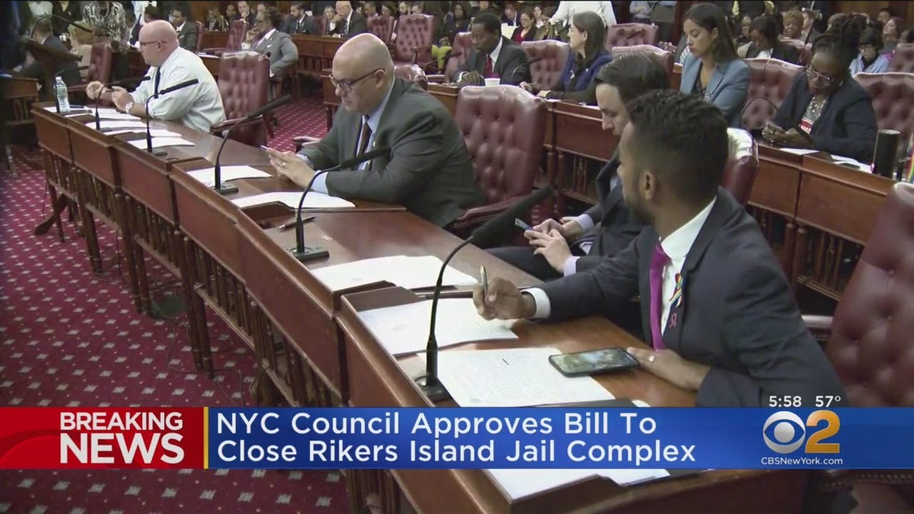The Latest: NYC to close Rikers Island jail complex by 2026