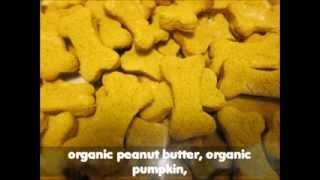 Gluten Free Dog Treats Peanut Butter & Pumpkin Cookies