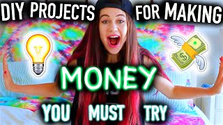 DIY Project Ideas for Making Money You MUST Try! -  Easy, for Teenagers/Kids