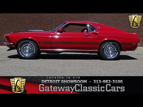 1969 Ford Mustang Mach 1 Stock # 948-DET