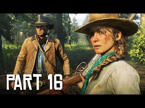 Red Dead Redemption 2 Gameplay Walkthrough, Part 16!! (RDR 2 PS4 Gameplay)