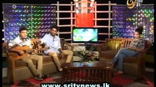 amal perera's son nadeemal perera with sri tv lassana irida
