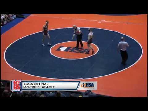 2017 IHSA Boys Wrestling Class 3A Championship Match: Lockport (Twp.) vs. Lombard (Montini)