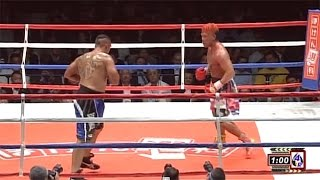 【ボクシング】ヘビー級8回戦「藤本京太郎 × ネイサン・マッケイ(フル)」