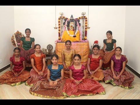 Ayigiri Nandini | Navadurgas singing Mahishasura Marddini Sthothram | Vande Guru Paramparaam |