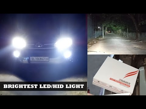 Brightest Led/hid Lights For Car | Best-led Headlights For Indian Cars | How To Install Led In Car