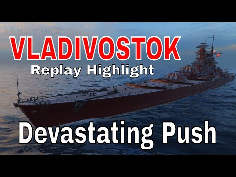 World of Warships Vladivostok Replay Wows Guide Gameplay Highlights