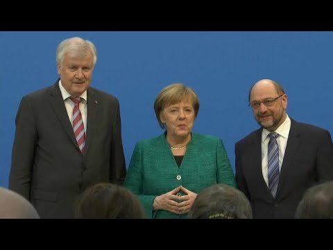 Coalition deal reached in Germany