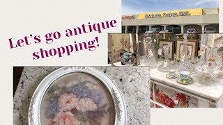 SHOP WITH ME / ANTIQUE SHOPPING / VINTAGE FINDS