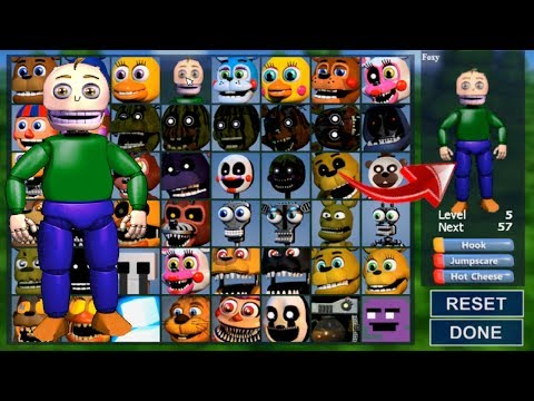 Fnaf World Multiplayer Roblox Endo 01 Baldi Basics Nightmares 4 In Fnaf World By Baldi