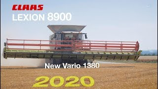 NEW CLAAS LEXION 8900 HARVEST MORE 1100HA/YEAR