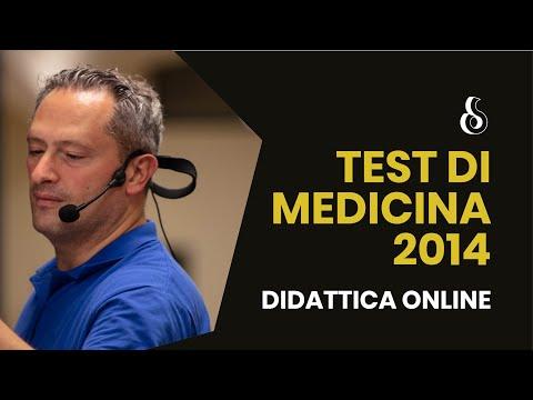 Test Medicina 2014 - Commento quesiti BIOLOGIA