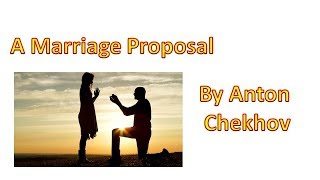A marriage Proposal By An