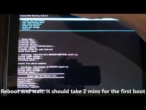How To Upgrade Galaxy Tab 10.1 To Android 4.2.1 CyanogenMOD 10.1 - Fully Working - GT7510