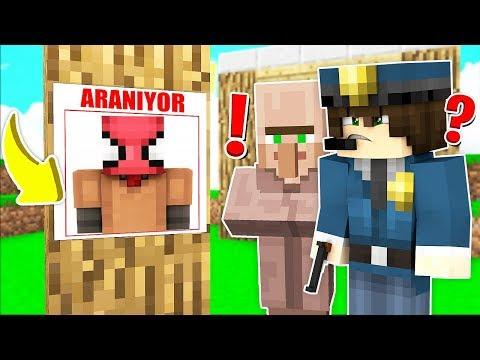 FAKİR KÖYDE ARANIYOR! 😱 - Minecraft thumbnail