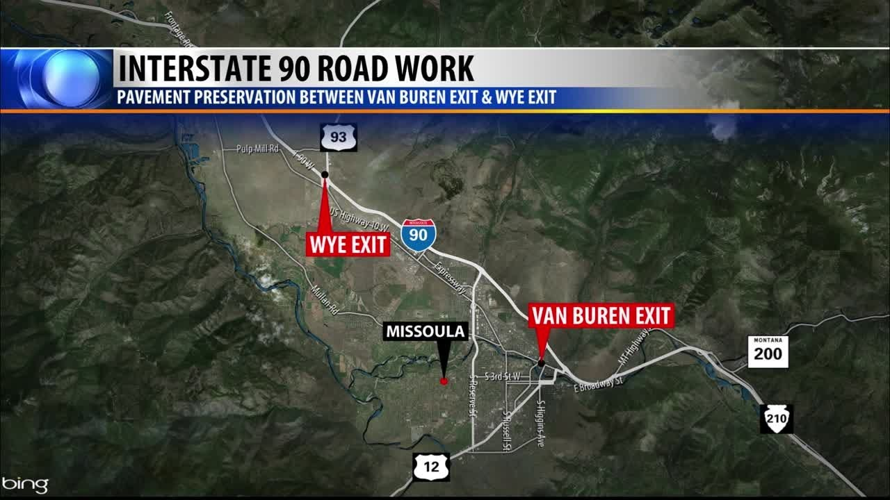 I-90 project beginning in the Missoula area on us 30 road map, i-90 today, interstate 90 wisconsin map, sr 99 road map, route 20 road map, i90 road map, us 20 road map, i 10 road map, highway 50 road map, i-90 corridor, i-70 road map, i-57 road map, i-72 road map, i-93 boston map, interstate 5 road map, route 90 map, i 90 tollway map, i-90 traffic cameras, i-90 weather conditions, pennsylvania turnpike road map,