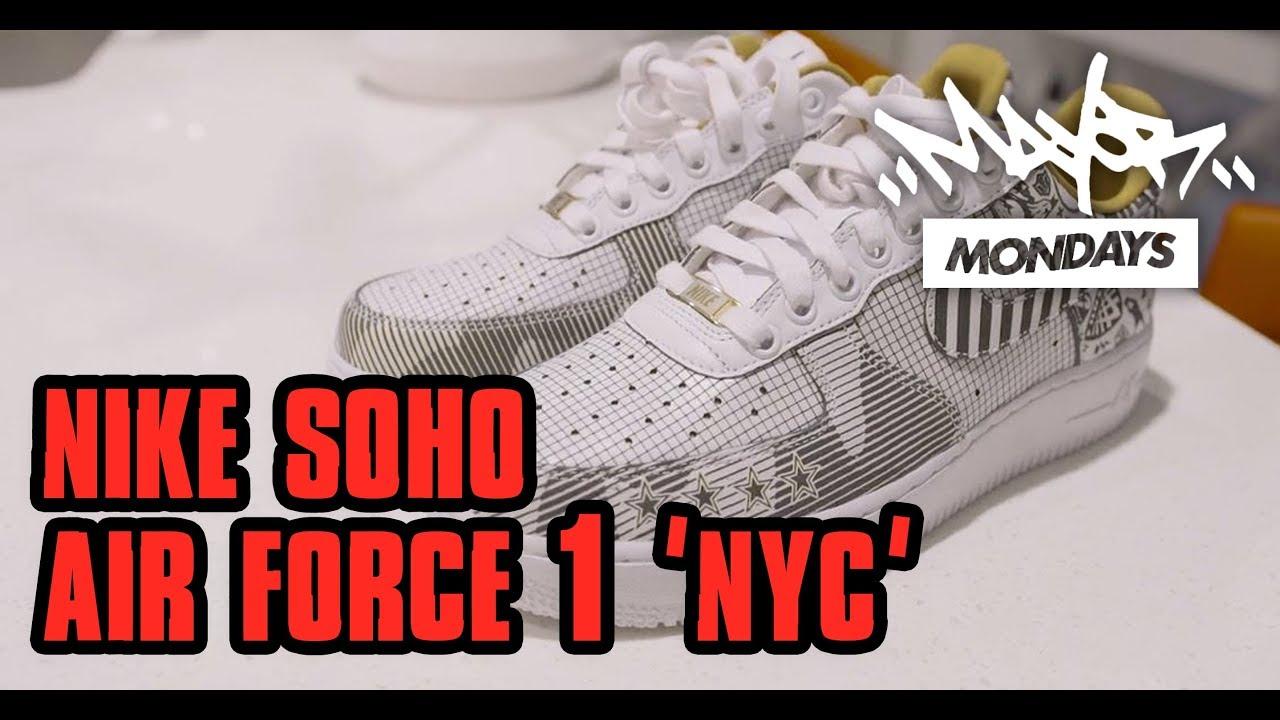 Soho Mondays One1'NYC'Mayor Nike Force Air F1cKlJ