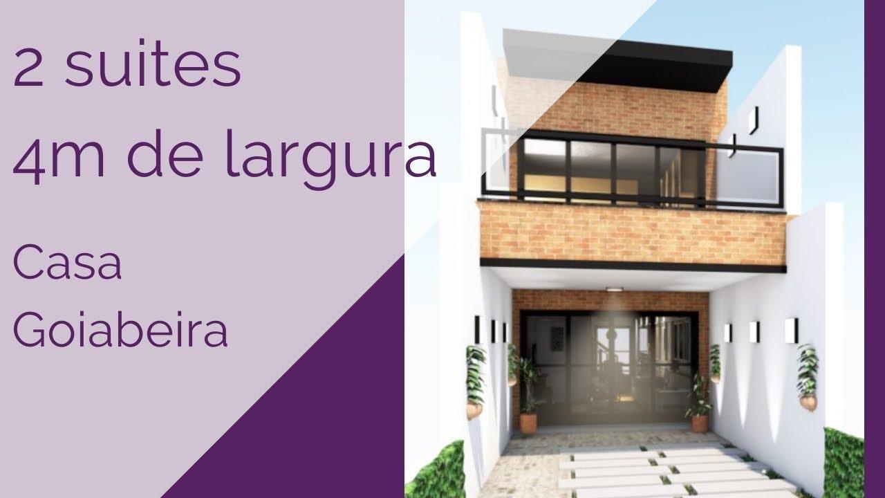 Download Casa Goiabeira - 2 suítes - 4m de largura
