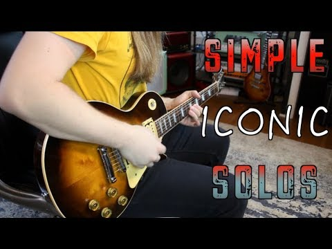 5 Simple Iconic Solos That Teach You A Lot!