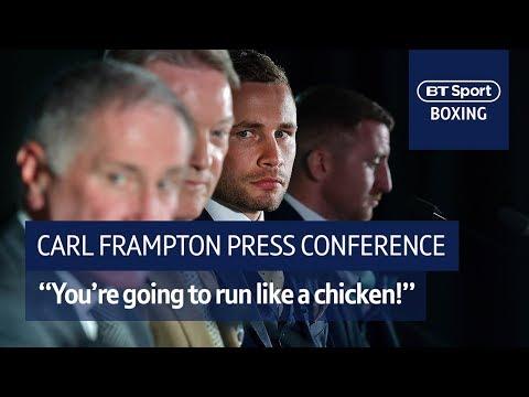 """You're going to run like a chicken."" | Carl Frampton vs. Luke Jackson Windsor Park press conference"