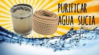 Cómo purificar agua con un cordón - Exp Supervivencia