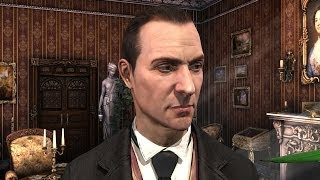 Characters comparison in Sherlock Holmes games (Сравнение персонажей в играх о Шерлоке Холмсе)