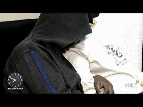Menina de 11 denuncia o próprio pai por estupro | Primeiro Impacto (24/11/17)