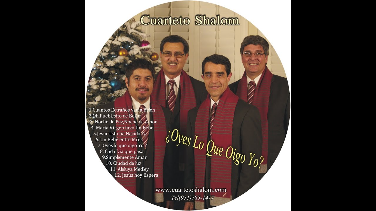 Cuarteto Shalom Noche de Paz 2012