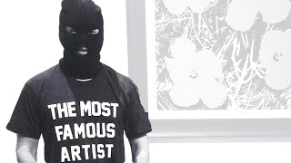 This Guy Says He's The Most Famous Artist