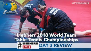 2018 World Team Championships | Liebherr Live Day 3 Review