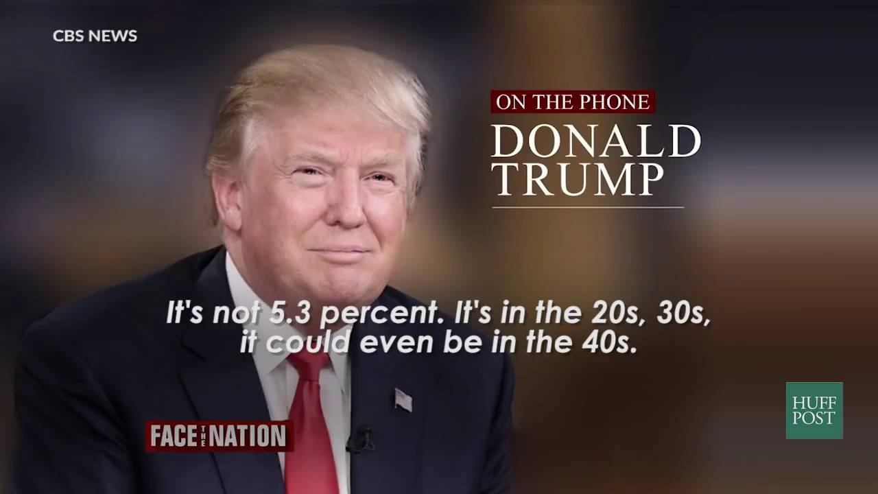 Donald Trump Doesnt Have Clue About My >> Donald Trump Has No Clue What The Unemployment Is Youtube