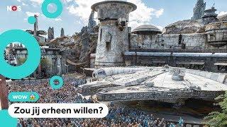 Je kunt nu naar een Star Wars-attractiepark