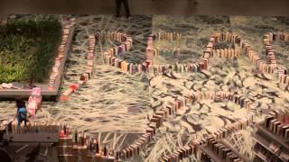Book Domino Chain World Record