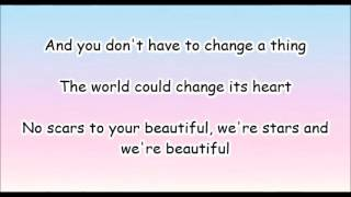 Download Lagu alessia cara - scars to your beautiful (lyrics) Mp3