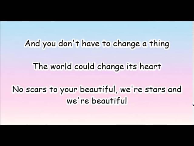Alessia Cara Scars To Your Beautiful Lyrics Chords Chordify