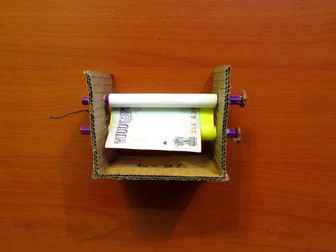 How to Make a Money Printing Machine (Home Made) – Easy Tutorials