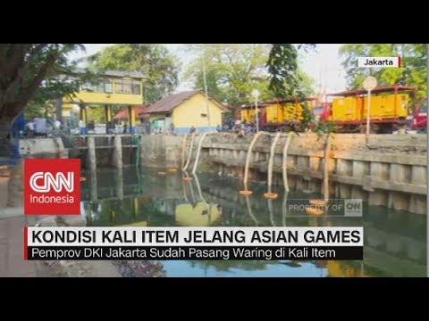 Kondisi Kali Item Jelang Asian Games
