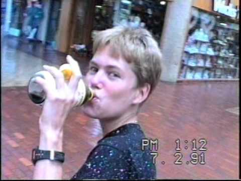 Walking Around at The San Jacinto Mall - Summer 1991