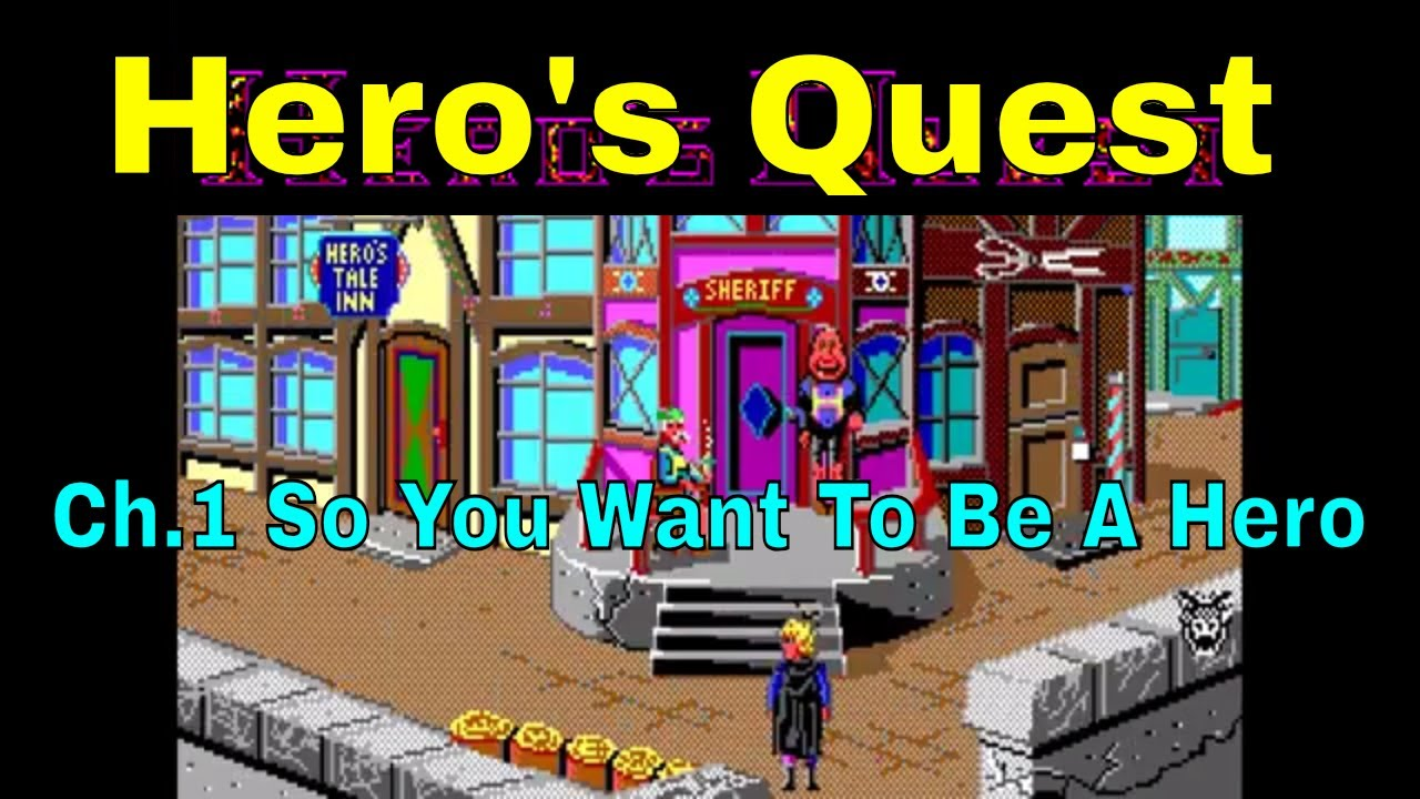 Dos Hero S Quest Quest For Glory Ch 1 10 So You Want To Be A Hero 105 Youtube