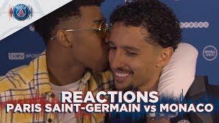 POST GAME INTERVIEWS : PARIS SAINT-GERMAIN vs MONACO