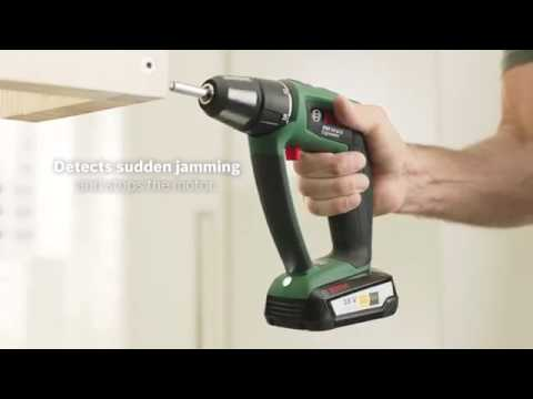 bosch psr 18 and psb 18 li ion ergonomic drills youtube. Black Bedroom Furniture Sets. Home Design Ideas